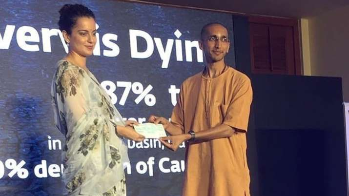 Kangana Ranaut pledges to plant 1 lakh trees, donates Rs 42 Lakh for Cauvery Calling Campaign
