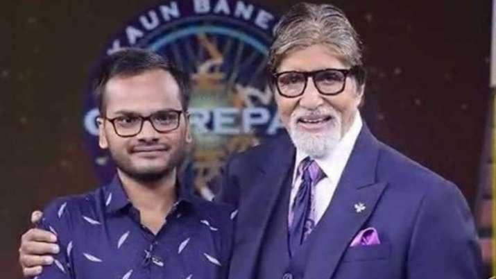 India Tv - Amitabh Bachchan with Sanoj Raj