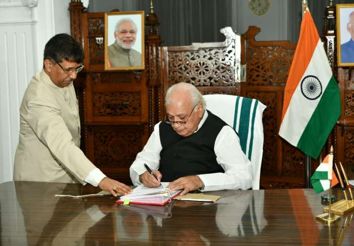 Arif Mohammad Khan sworn in as new Kerala Governor