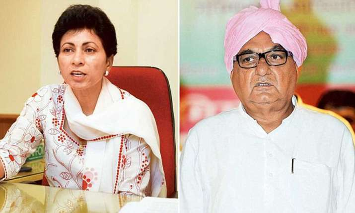 Kumari Selja appointed Haryana Congress chief; Bhupinder
