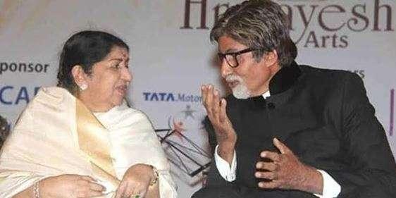 Lata Mangeshkar had recently wished Amitabh Bachchan when