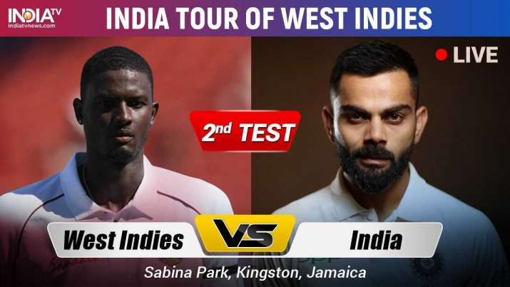 Live Streaming Cricket, India vs West Indies, 2nd Test
