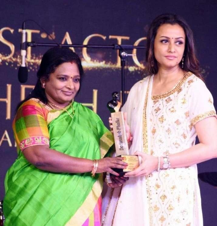 India Tv - Mahesh Babu takes home Dadasaheb Phalke Award for best actor