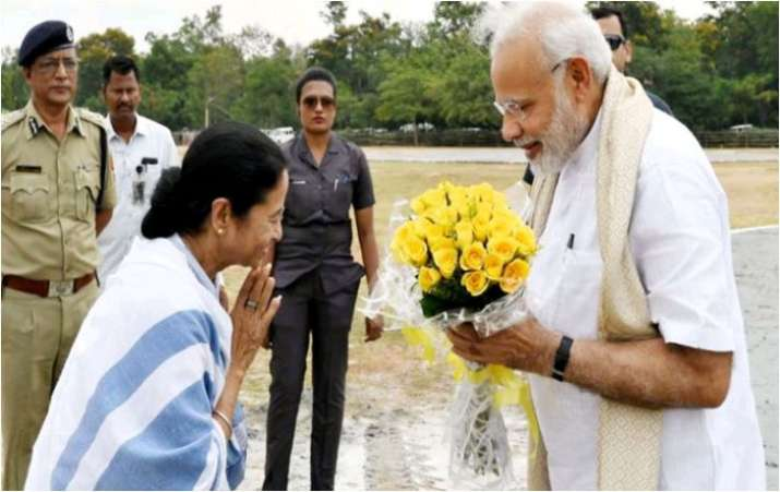 File Photo of WB Chief Minister Mmata Banerjee and PM