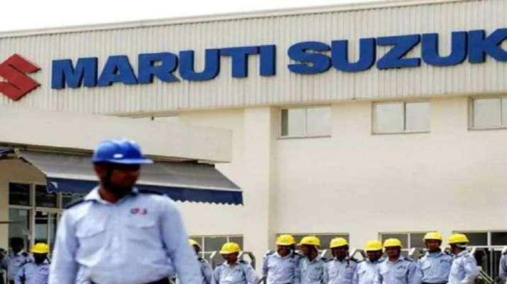Maruti shares fall 4 pc; m-cap drops by Rs 6,645 cr