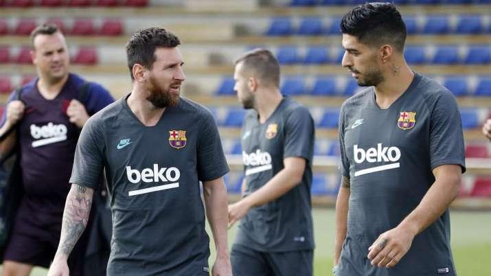 UCL: Lionel Messi included in Barcelona squad for Borussia Dortmund tie