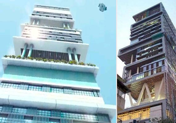 India Tv - Mukesh Ambani's Antilia