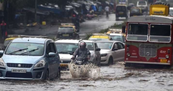 Mumbai Rains: Severe waterlogging on roads; trains, flights