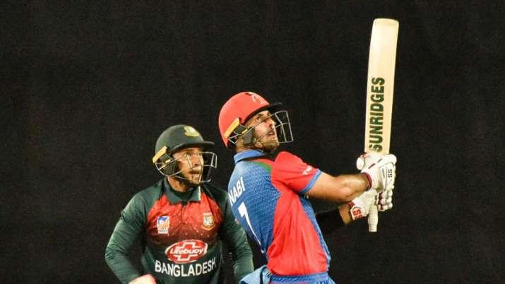Tri-series: Nabi, Mujeeb power Afghanistan to emphatic 25-run win over Bangladesh