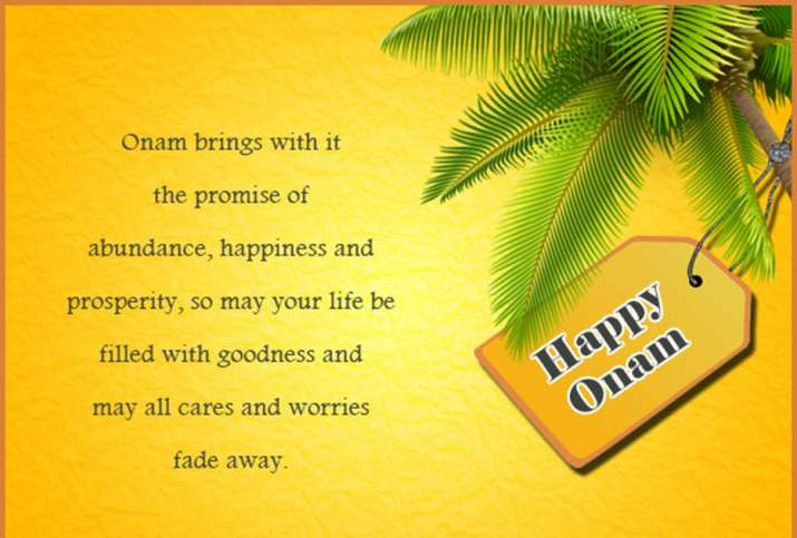 India Tv - Wish your friends with these Onam 2019 wishes
