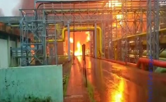 Three killed in ONGC gas plant fire in Navi Mumbai