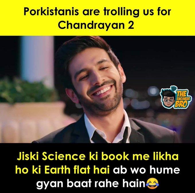 Twitterati slam Pak users for trolling Chandrayaan-2 mission