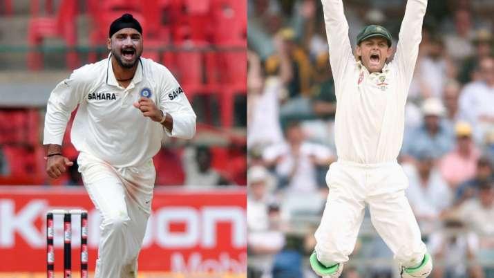 'Stop crying, mate': Harbhajan Singh slams Adam Gilchrist over hat-trick jibe