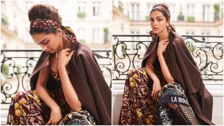 Deepika Padukone Stuns At Paris Fashion Week 2019 In Her Strapless Dress Celebrities News India Tv