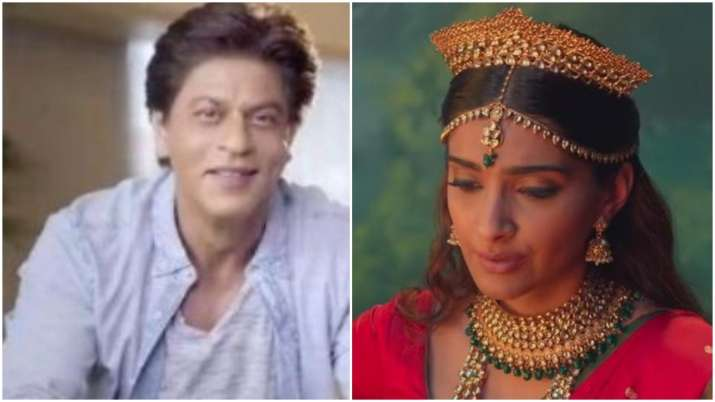 The Zoya Factor Song Lucky Charm: Shah Rukh Khan wins heart as he introduces Sonam Kapoor as India's
