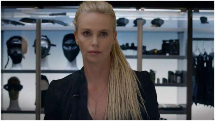 Charlize Theron's Cipher ditches dreadlocks for Fast &