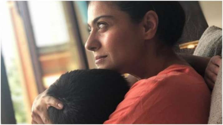 This picture of Kajol hugging son Yug will melt your hearts