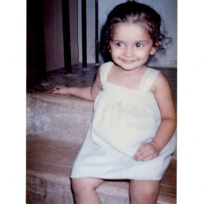 India Tv - Rock On actress Prachi Desai's childhood picture