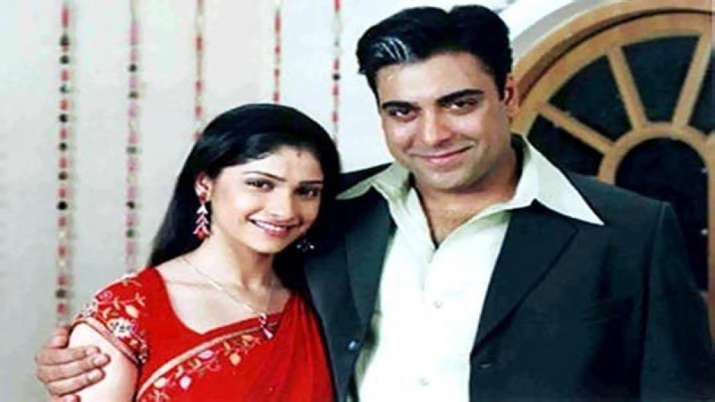 India Tv - Prachi Desai and Ram Kapoor in a still from Kasamh Se