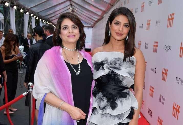 India Tv - Priyanka Chopra at TIFF for The Sky Is PInk
