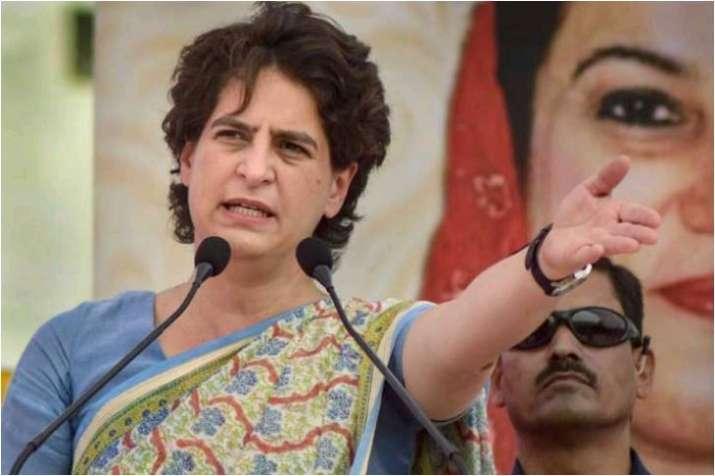 Priyanka Gandhi on economic slowdown