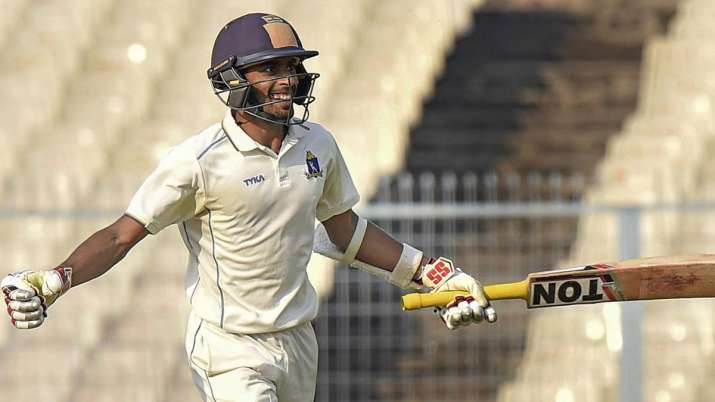 India Tv - Easwaran played one of the finest knocks in Indian domestic cricket earlier this year