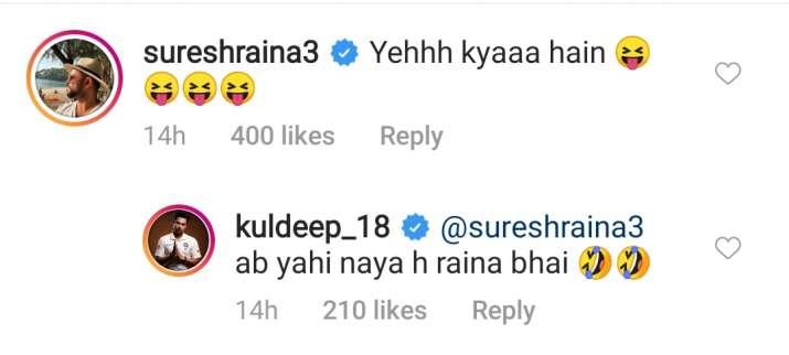 India Tv - Raina trolls Kuldeep