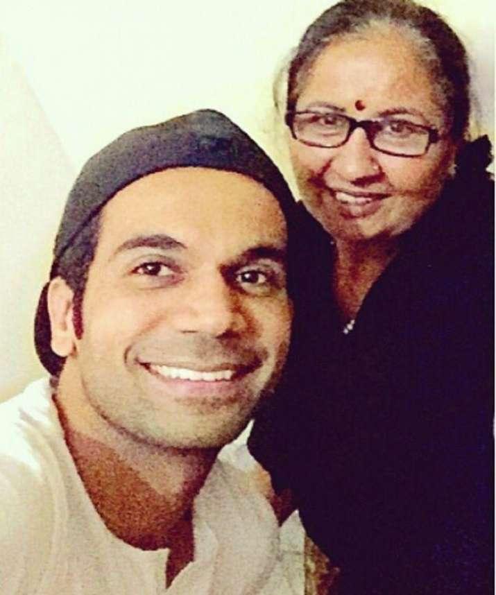 India Tv - Rajkummar Rao and his mother