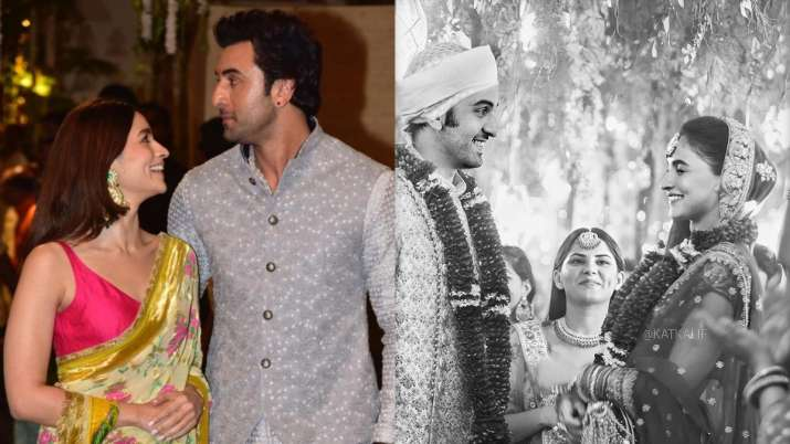 Alia Bhatt and Ranbir Kapoor's fan-made wedding pictures go