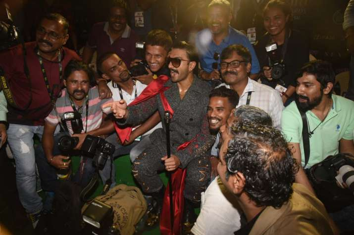 India Tv - Ranveer Singh making people go crazy with his charm