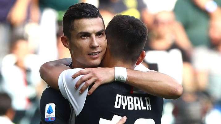 Serie A: Cristiano Ronaldo and Miralem Pjanic score as Juventus beat Spal 2-0