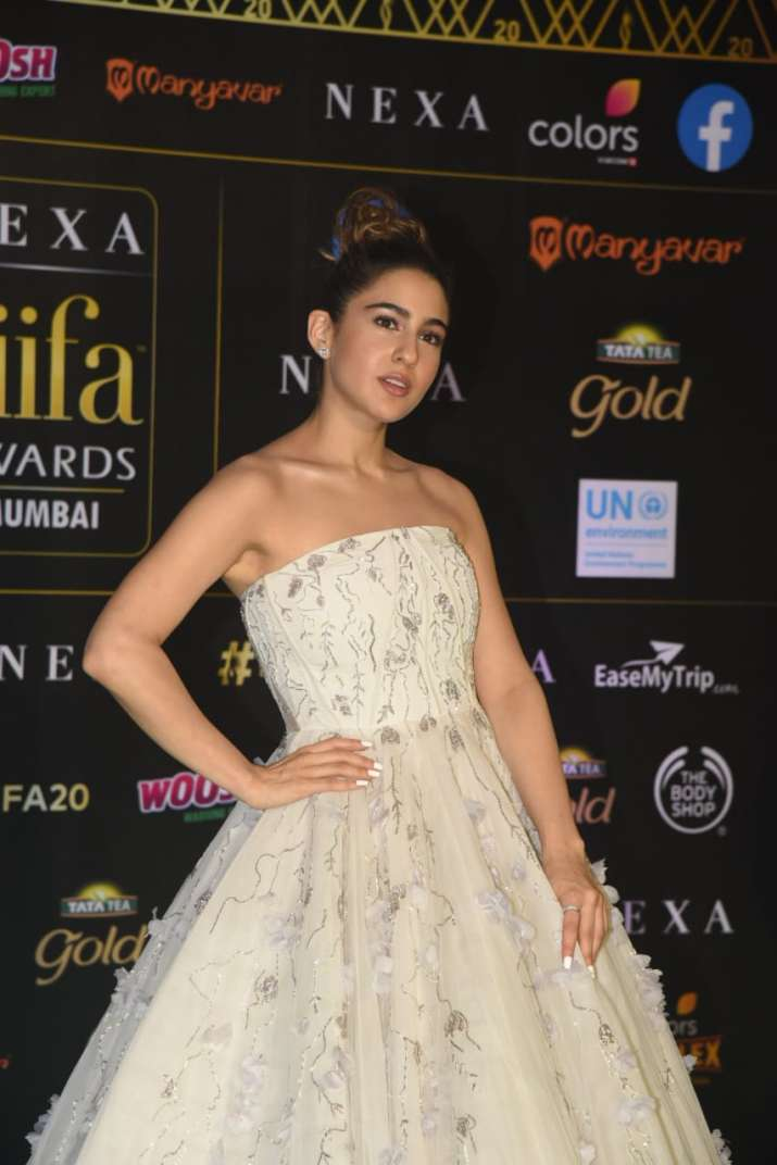 India Tv - Sara Ali Khan looked as if come out of a fairy tale
