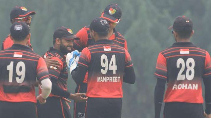 In a first, Singapore claim maiden win against ICC full member nation Zimbabwe