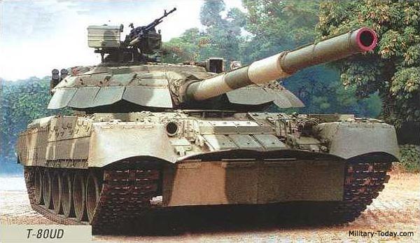 India Tv - T80UD Tank