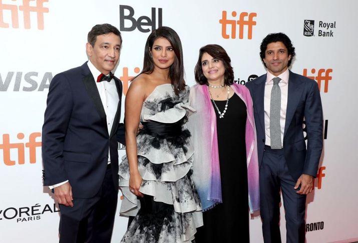 India Tv - Priyanka Chopra at TIFF for The Sky Is Pink premiere