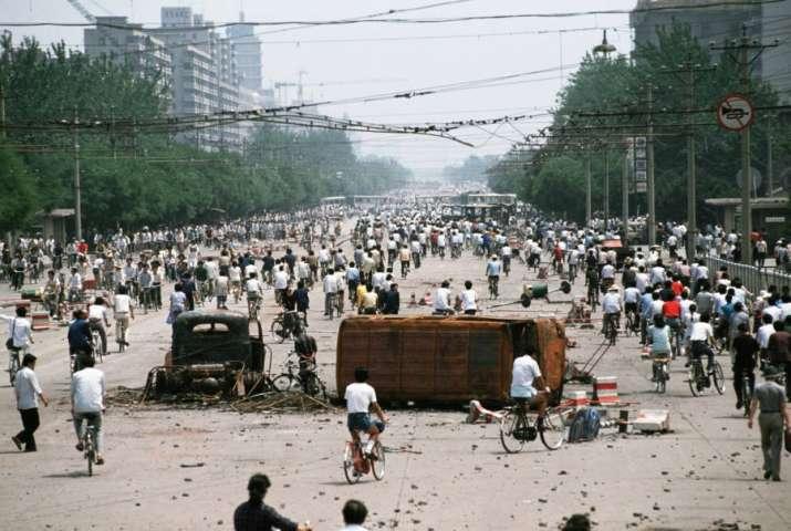 India Tv - The Tiananmen Square Protest, 1989