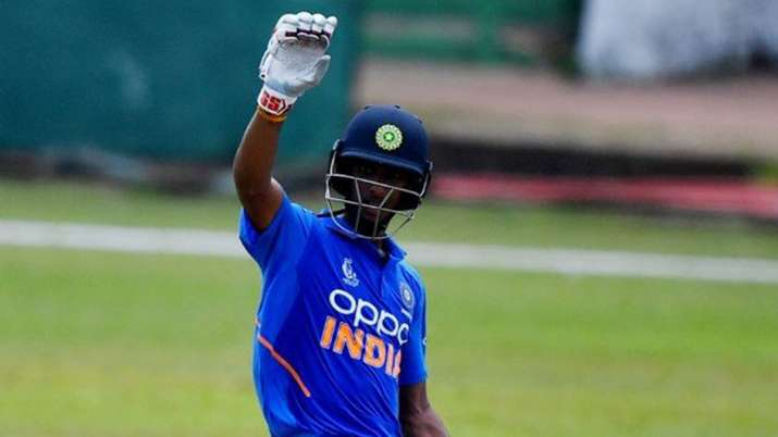 India Tv - Tilak Verma scored 110 off 119 balls