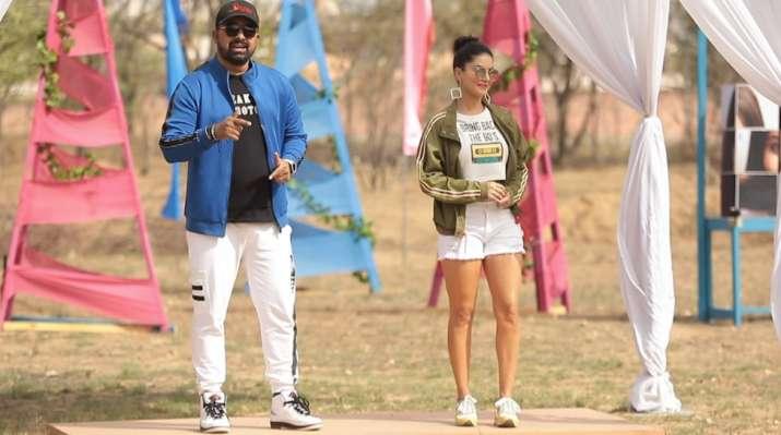 Splitsvilla 12: Sunny Leone and Rannvijay Singha challenge
