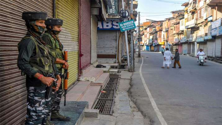 Not a single bullet fired, no life lost in J&K since August