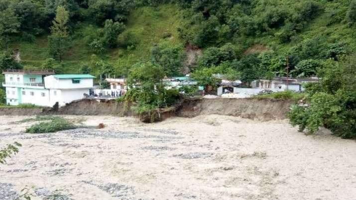 Two killed due to cloudburst in Pithoragarh, Uttarakhand