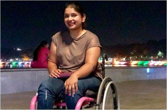 Virali Modi suffers from a spinal injury as a result of