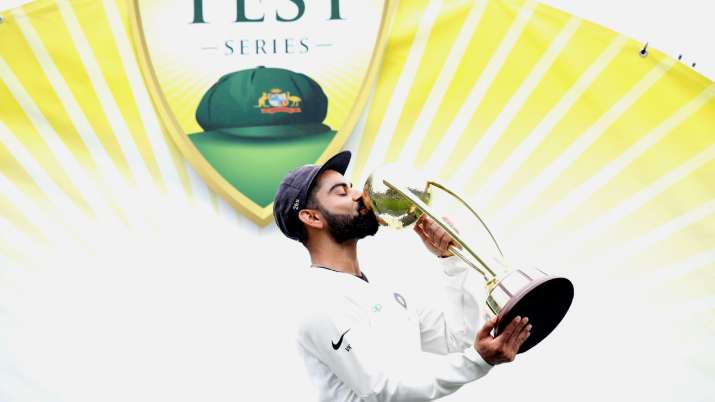 India Tv - Virat Kohli was the first Indian captain to win a Test series Down Under