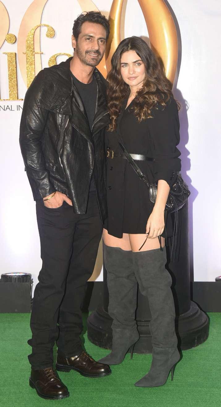 India Tv - Arjun Rampal with girlfriend