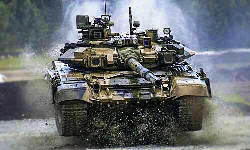 India Tv - T-90 Tank