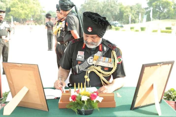India Tv - Lieutenant General Dhillon takes charge of mantle of COR Rajputana Rifles