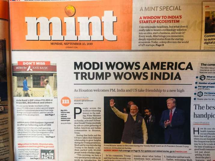 India Tv - The Mint