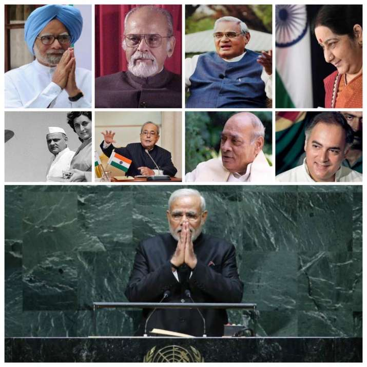Such is my country: A history of India's tallest leaders at