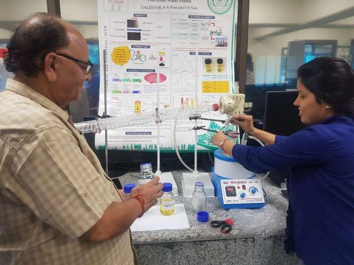IIT Delhi successfully prepares diesel from single-use plastic