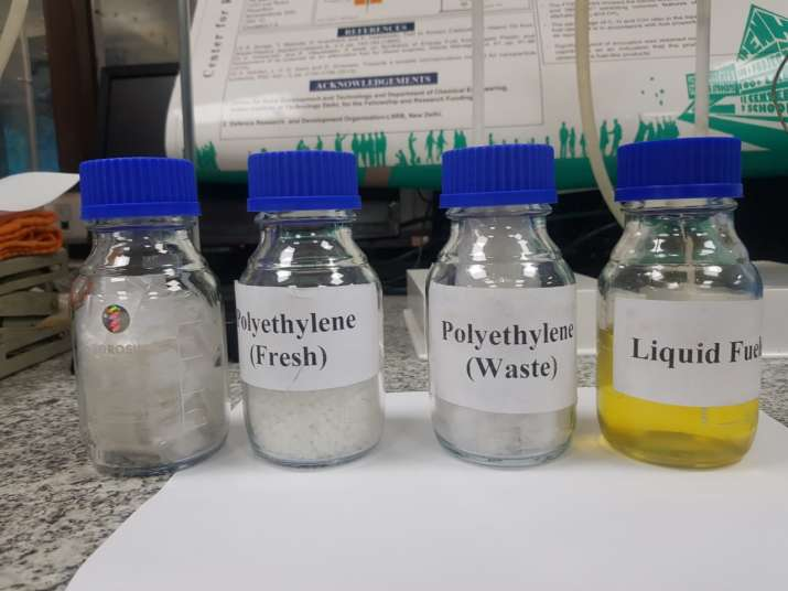 India Tv - IIT Delhi successfully produces diesel from single-use plastic