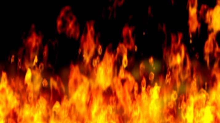 Fire in godown adjoining hospital in Indore, 48 patients